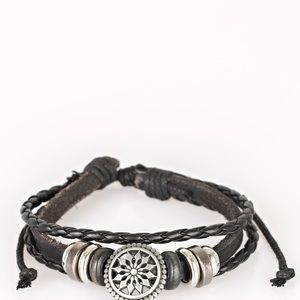 Totally Tundra Black Paparazzi Bracelet